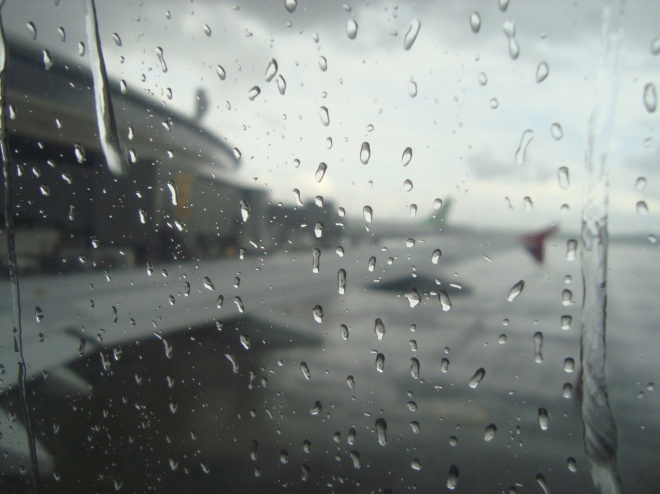 Saindo de Patos de Minas e BH - Uma chuva térrivel