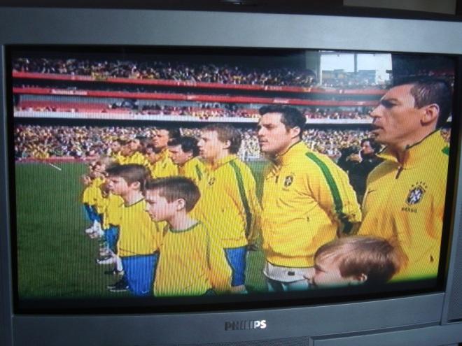 Primeiro jogo do Brasil, fora do Brasil