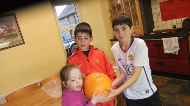 Halloween na família Irish