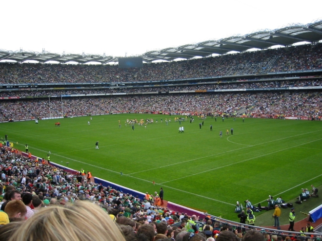 Croke Park - Onde vai rolar o Red Hot Chilli Peppers