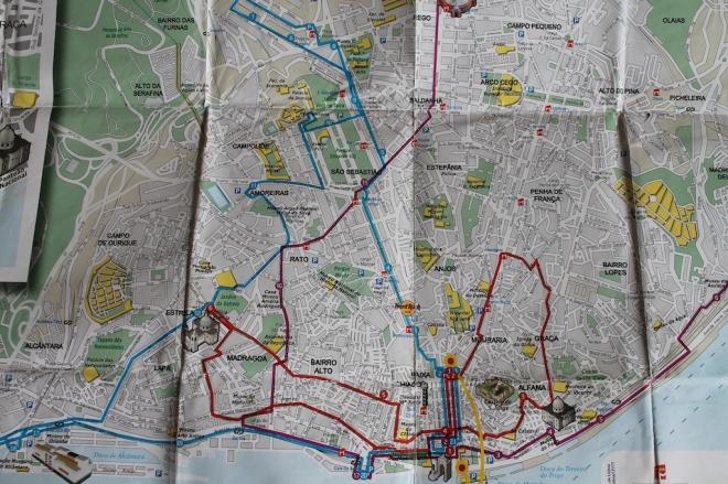 Um mapa de uma cidade desconhecida. Quer coisa melhor???